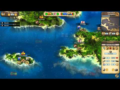 Port Royale 3: Official HD Video Game Tutorial Pirates Ahoy!  - PC PS3 X360