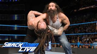 John Cena & Luke Harper vs. Bray Wyatt & Randy Orton: SmackDown LIVE, Jan. 31, 2017