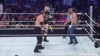 Roman reing save Dean ambrose