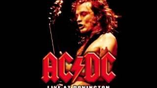 AC/DC - Back in Black LIVE backing track (rhythm guitar)