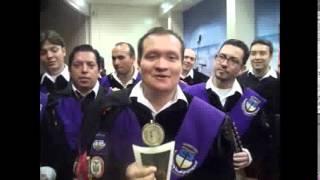 """SALUDO DE LA TUNA DE UNV.CATOLICA DE  COLOMBIA PARA """"TUNAS PARA EL PERU Y EL MUNDO"""""""