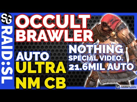 RAID SHADOW LEGENDS | OCCULT BRAWLER FOLLOW UP VID 21.6 MIL ULTRA NM CB AUTO