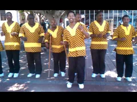Khayelitsha United Mambazo, V&A Waterfront, Cape Town, South Africa
