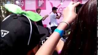 Baro and Sandeul DLFA Aegyo/Make Announcer Laugh KCON