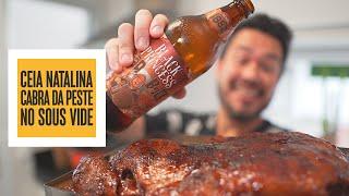 Ceia natalina CABRA DA PESTE no Sous Vide! (Javali com cerveja) | Só Vide #263
