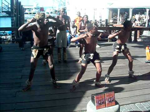 V&A Waterfront African Dance 2 – David and Colleen Hungerford's Honeymoon in South Africa