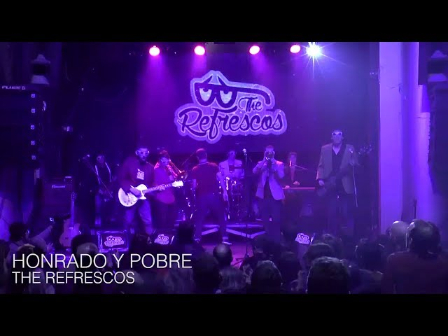 Video en directo de The Refrescos - Honrado y Pobre