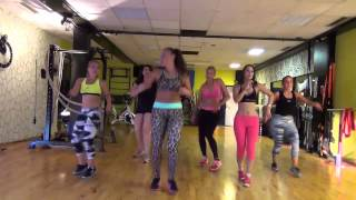 Zumba® with Alexis (ZIN) Nürnberg Germany 2015 CrossFire - Carnaval feat. Haila  Choreo by Alexis