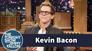 Kevin Bacon Rented Footloose to Learn His Tonight Show Dance Moves