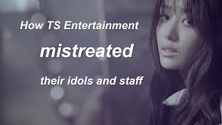 The Worst Entertainment Companies: TS Entertainment (With Receipts)
