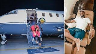 Davido aonesha jeuri ya pesa kwa kununua Private jet, yake mwenyewe width=