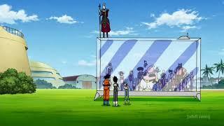 "Goku talks about Krillin ""Summoning the Dragon""."