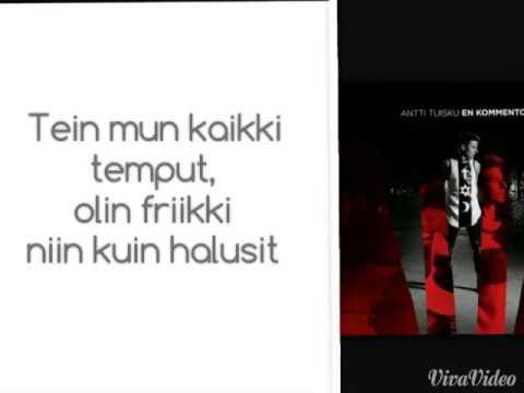 antti-tuisku-hiton-pelkuri-lyrics-anni-stylinson