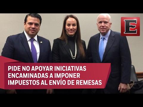 MÉXICO NO PAGARÁ MURO, DICE GABRIELA CUEVAS A SENADORES DE EU