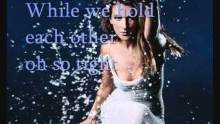 Celine Dion - The colour of my love with lyrics