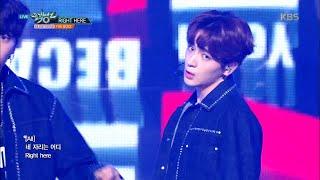 뮤직뱅크 Music Bank - RIGHT HERE - THE BOYZ.20180928
