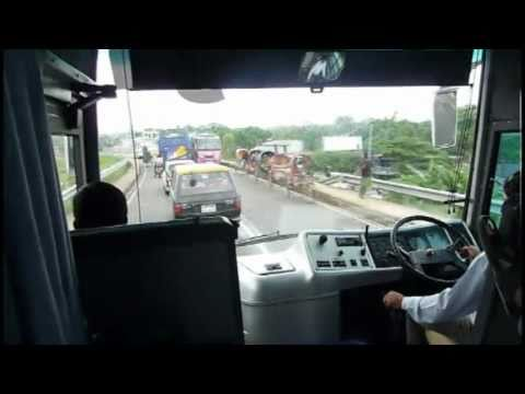 Dhaka to Sylhet Highway in Greenline Coach Part 2, Host for Bangladesh Cricket World Cup 2011