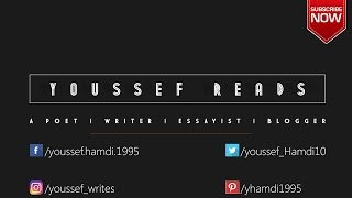 Spoken Poetry: The Vortex--A poem by Youssef Hamdi [YOUSSEF READS]