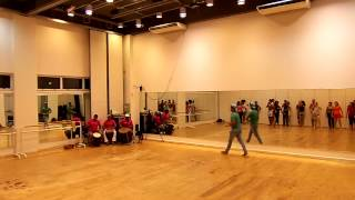 Pulsarte Aula de Dança Afro 23/01/13 part 01