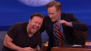 Ricky Gervais Funniest Talk Show Moments