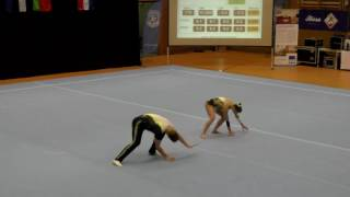 Sachsenpokal 2016   131   002   Mixed Pair   Senior   Dynamic   POL   UKS Targowek Warschau POL, Mac