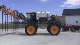 Seeding cover crops with a Hagie sprayer
