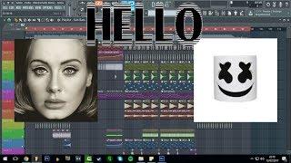 Adele - Hello - Marshmello Remix - Remake