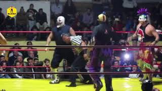 Psycho Circus vs Perros del Mal- Arena Afición de Pachuca