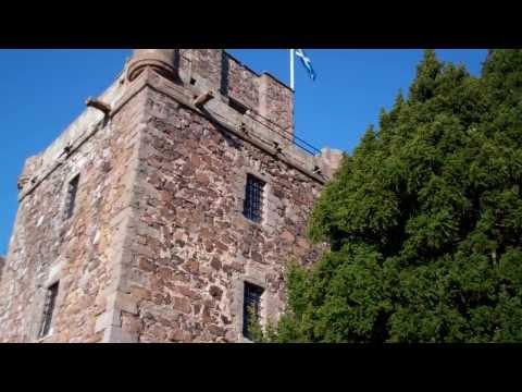 Saltire Elcho Castle Perthshire Scotland