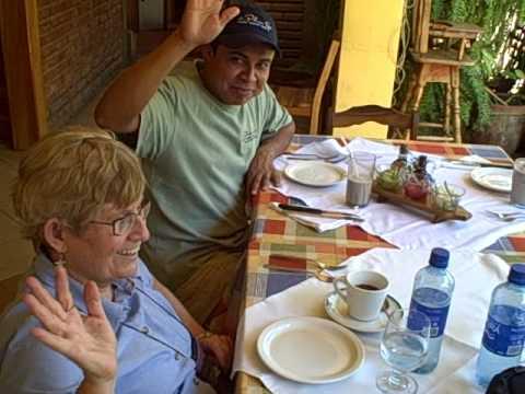 At the El Zaguán