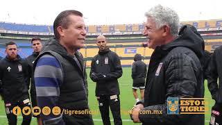 JC Chávez le desea suerte a Tigres