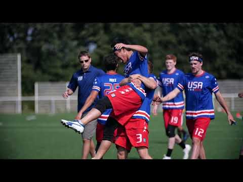 Video Thumbnail: 2019 WFDF World U-24 Championships: Team USA Highlights, Part 1