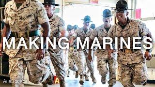 Making Marines – 12 Weeks of United States Marine Corps Recruit Training