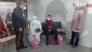 COVID-19 : Un couple quitte aujourd'hui le centre hospitalier provincial 20 Août à Azrou