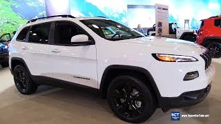 2017 Jeep Cherokee High Altitude - Exterior and Interior Walkaround - 2017 New York Auto Show