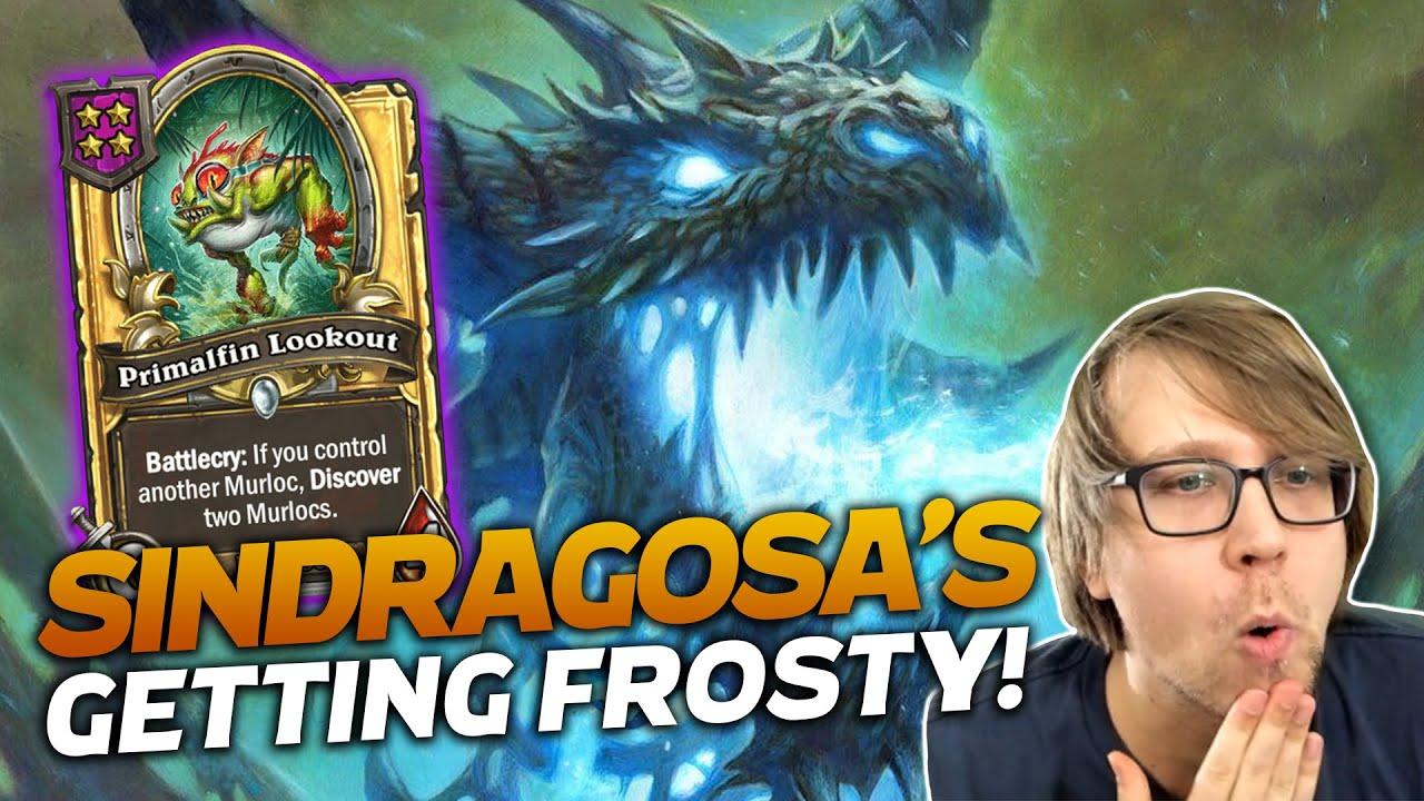 Savjz - Sindragosa is Getting Frosty! | Hearthstone Battlegrounds | Savjz