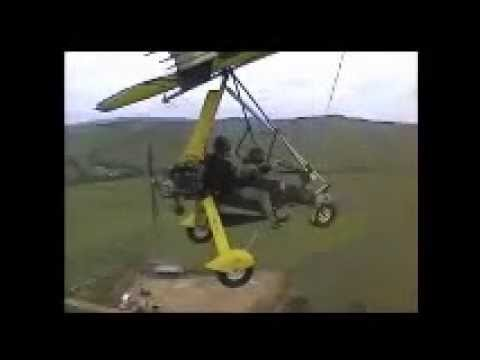 HellPit ultralight microlight trike flying in south africa