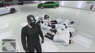 GTA 5 Online | 21 Savages Randomly Appear In My Garage And Drop Me 21k Just When I Need It!