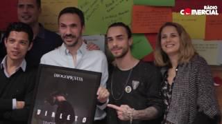 Rádio Comercial - Diogo Piçarra - Já Não Falamos (ao vivo no estúdio da Comercial)