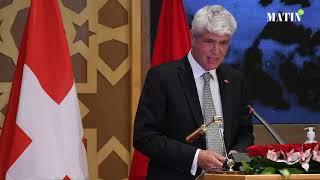Célébration du Centenaire de la présence diplomatique de la Suisse au Maroc