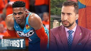 OKC Thunder 'owe' Russell Westbrook a trade - Nick Wright | NBA | FIRST THINGS FIRST