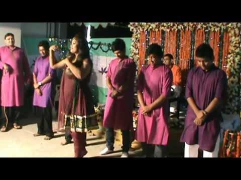 Sadi Gaye Holud Dance