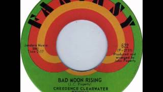 Creedence Clearwater Revival Bad Moon Rising Wide True Stereo Mix 2