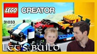 Car Transporting Truck - Lego Creator - 31033