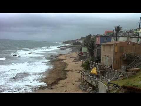 Océano Atlántico desde la Comunidad La Perla – San Juan – Puerto Rico – Parte IV