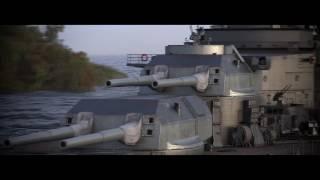 World of Warships trailer in Battlefield 4 style