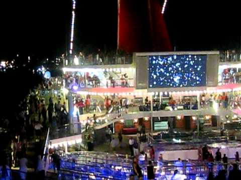 Bon Voyage Party- Lido Deck -3