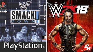 WWE 2K18 Cover Evolution [2000 - 2018] History Of Game Covers In WWE Games [Main Series]