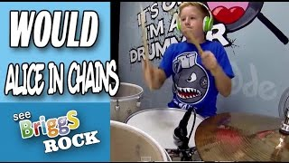 Would Alice in Chains Drum Cover Briggs