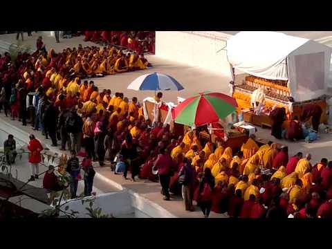 Tibetan Monks at Boudha Nepal.mp4